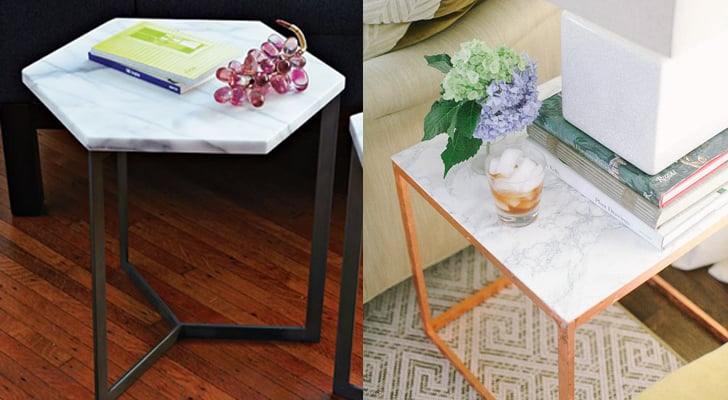 Buy It Marbletop Side Table Originally DIY It This - Cost of marble table top