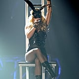 Pictures of Britney Spears and Rihanna Performing at Billboard Awards