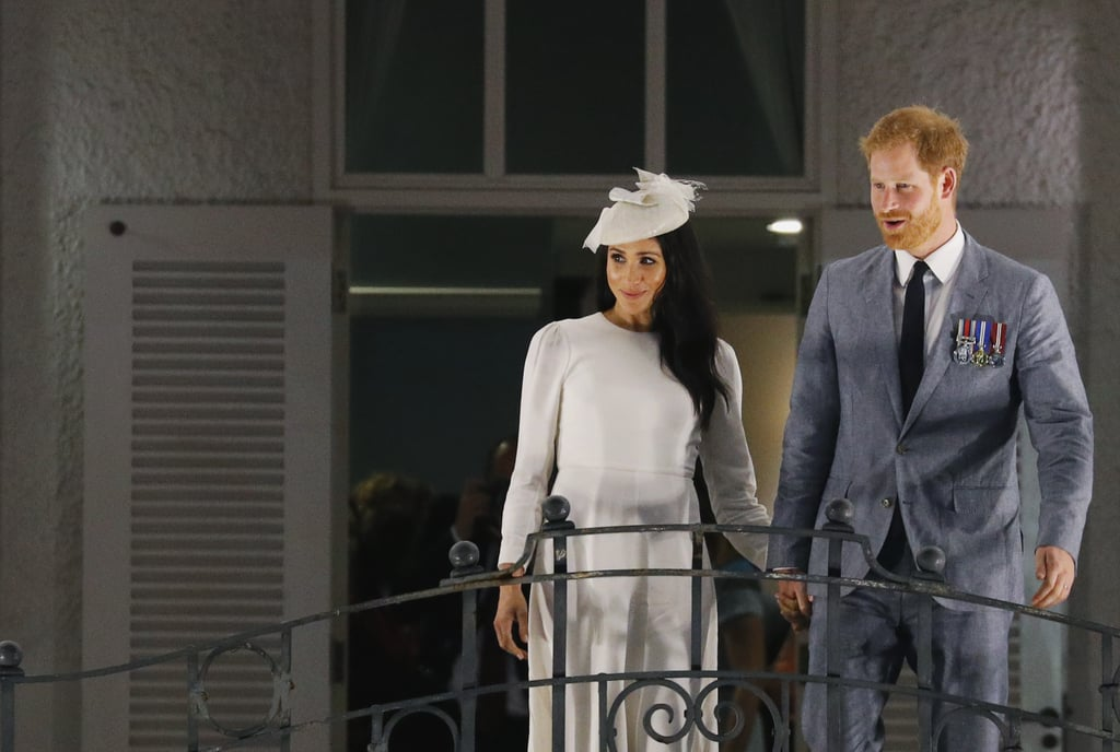 Harry, Meghan, and Queen Elizabeth at Grand Pacific Hotel