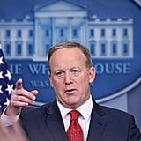 July 21, 2017: Sean Spicer, White House Press Secretary