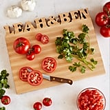 Uncommon Goods Personalized Cutting Board ($159)