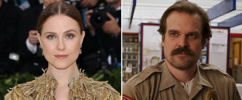 Evan Rachel Wood Tweets About Jim Hopper on Stranger Things