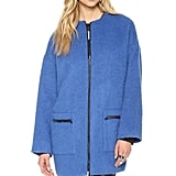 You'll make a statement every time you put on this MSGM Mohair Coat ($828).