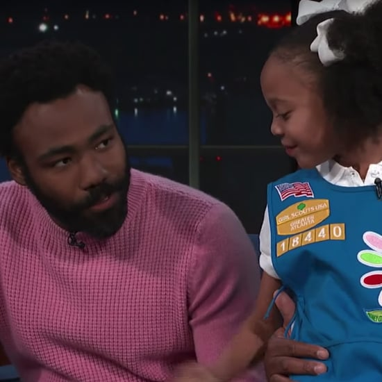 "Donald Glover Meets Girl Scout Who Sang ""Redbone"""