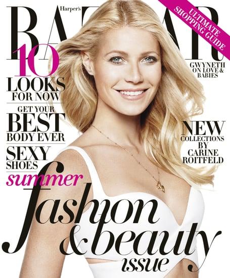 Gwyneth Paltrow Harper's Bazaar May 2013 Cover