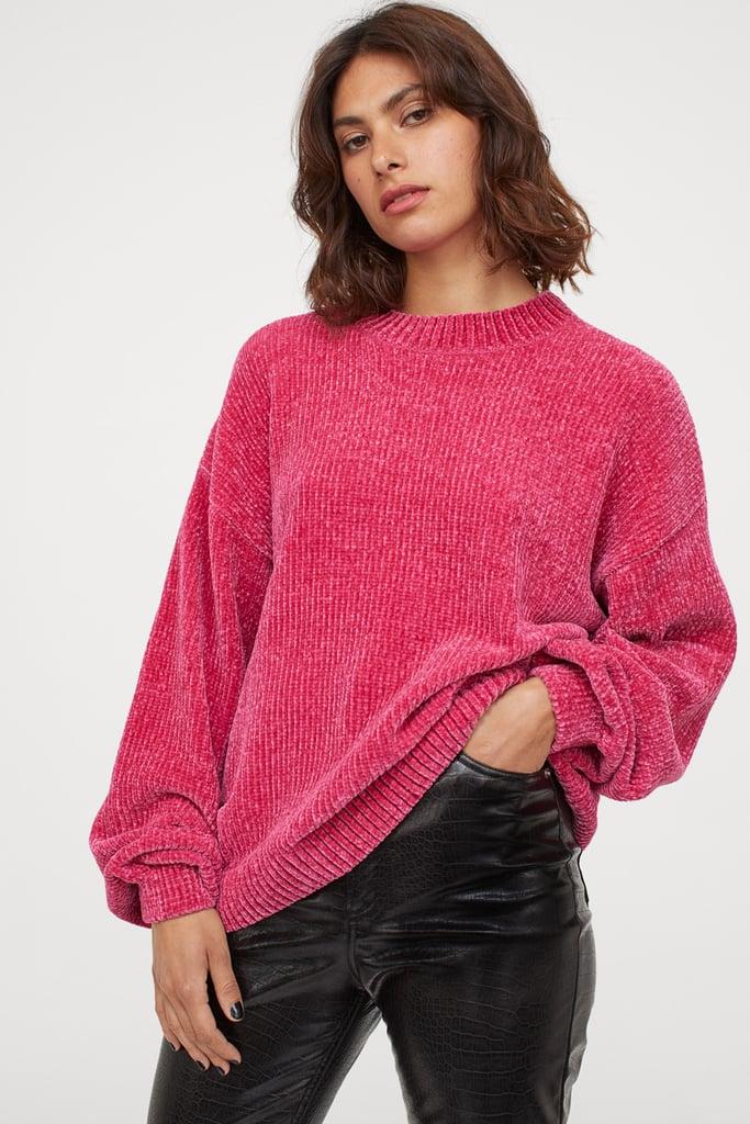 H&M Chenille Sweater