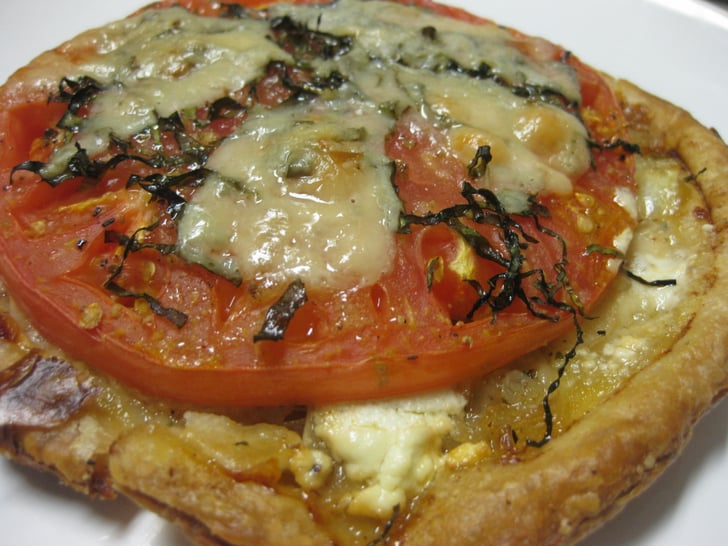 Tomato and goat cheese tart recipe popsugar food Ina garten goat cheese tart