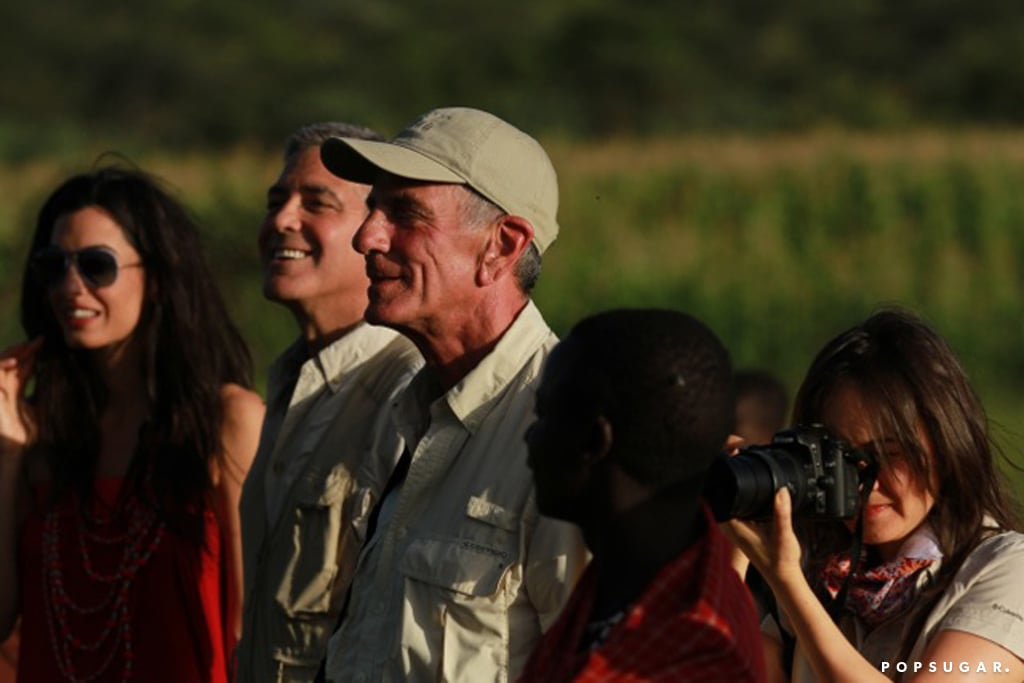 George took Amal on an African safari in March 2014.