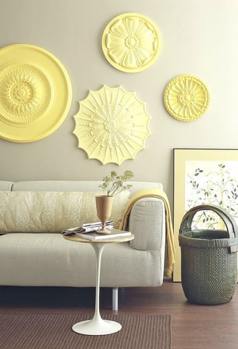 Medallion Wall Art Best Diy Ceiling Medallions As Wall Art  Popsugar Home Design Inspiration