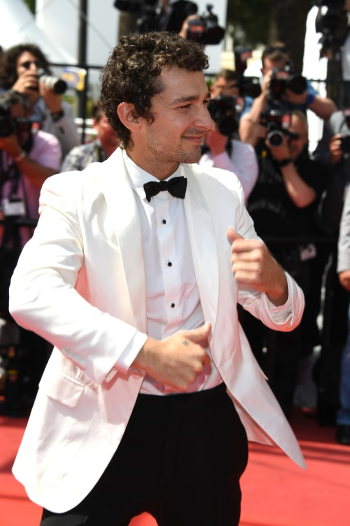 Shia LaBeouf had us doing a double take when he popped up at the Cannes Film Festival this week. After previously sporting a braided mullet and going completely bald, Shia returned to his roots — literally — and let his natural curls grow out. The best part? He looks just like he did back in the early 2000s when he starred as Louis Stevens on the Disney channel sitcom Even Stevens. We're loving this look! Shia attended a Cannes photocall and red carpet premiere for his new film, American Honey, which he stars in with Riley Keough, Sasha Lane, and McCaul Lombardi. The 29-year-old seemed to be having a blast while posing for photos, as he cracked up with his costars and busted out a few dance moves before making his way up the famed staircase. For some extra context: the last time Shia was in Cannes, he was wearing a paper bag on his head and storming out of a press conference, so this is all definitely a step up. If you're not on Team Shia yet, this is probably a good time to get on board.
