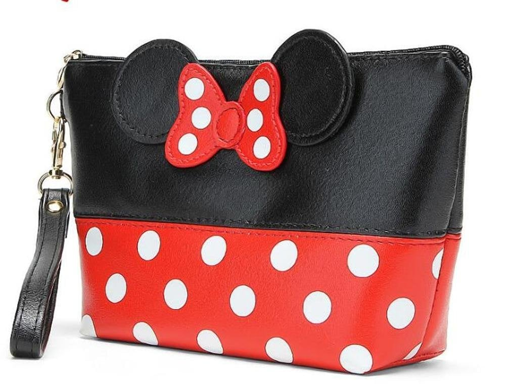 Finex Minnie Mouse Ears Cosmetic Bag