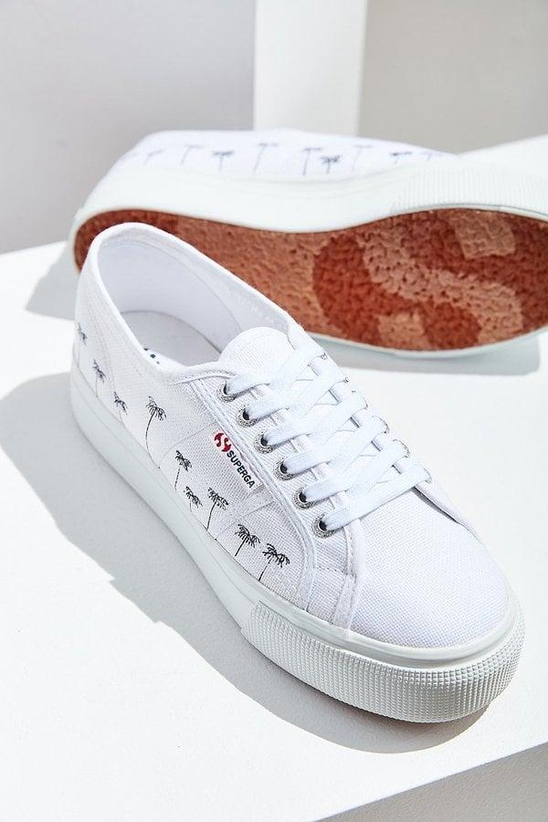 Superga Palm Tree Platform Sneaker