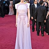 Cate Blanchett in Lilac Givenchy at the 2011 Oscars