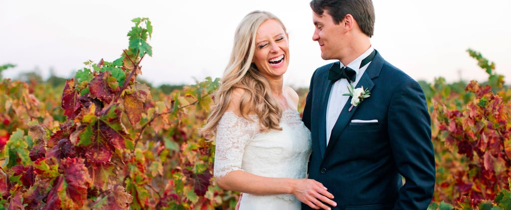 """This Beautiful Outdoor Wedding Will Make You Consider Saying """"I Do"""" at a Winery"""