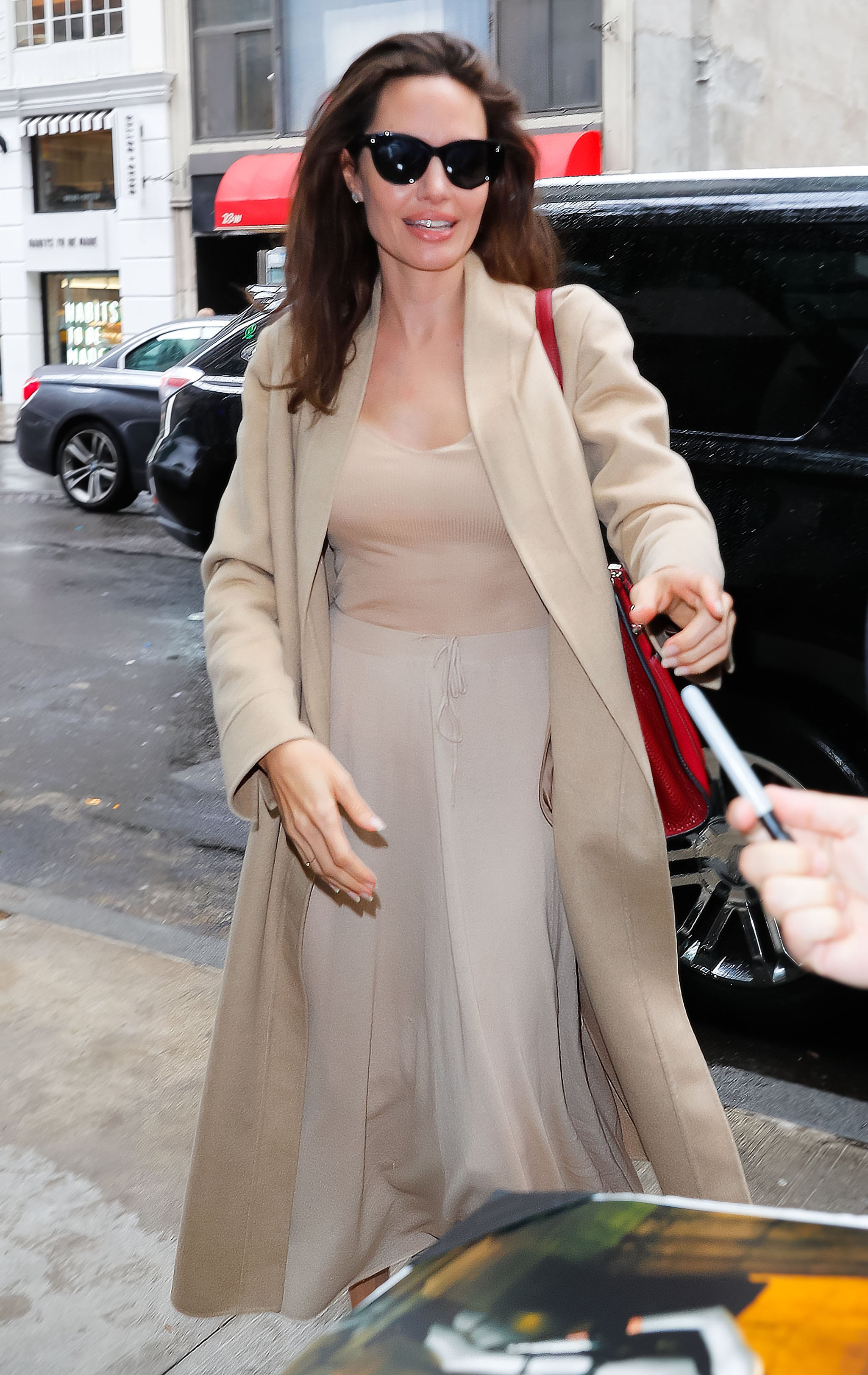 Angelina Jolie Sexy Nude Photos fashion, shopping & style | angelina jolie's nude look is