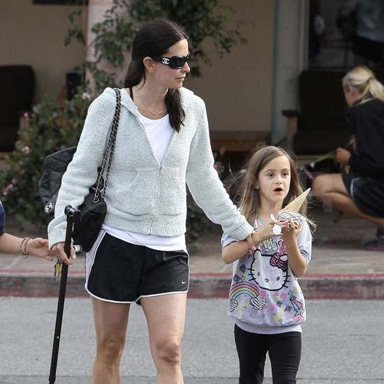 Pictures of Courteney Cox and Coco Arquette