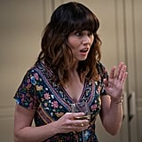Judy's Floral Wrap Dress on Dead to Me