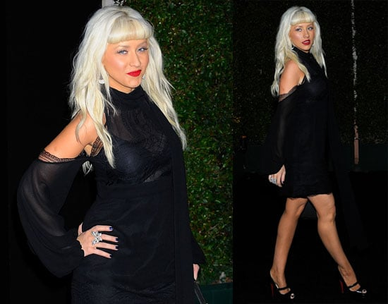 Photos of Christina Aguilera, Who Says She's Proud to Be a B*tch, Before the Release of Her New Album