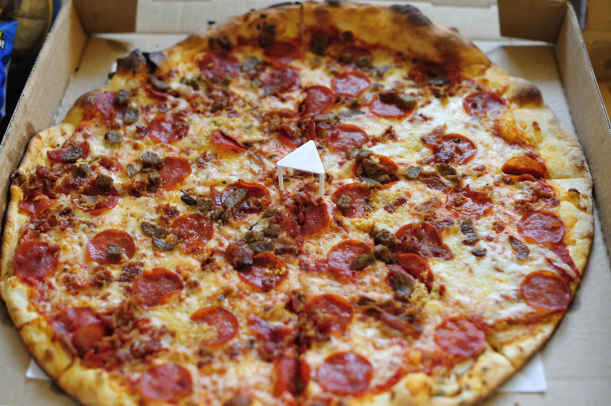 Pizzeria trades pizza for ray rice jerseys popsugar food for Perfect kitchen harrogate takeaway
