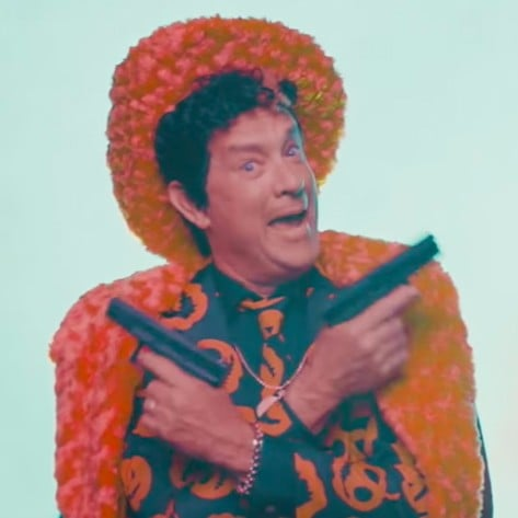 Tom Hanks as David S. Pumpkins on SNL 2017