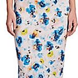 Suno Cutout Floral-Print Sheath Dress ($695)