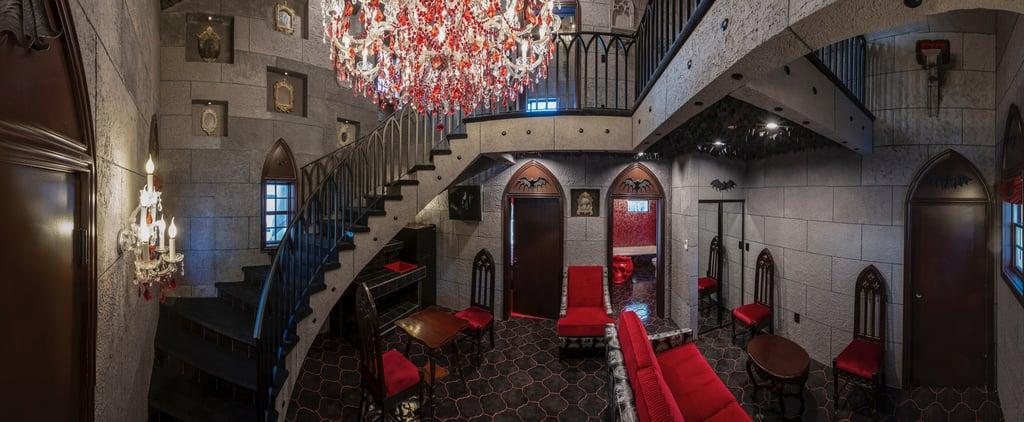 Elegant Dracula Motel Suite at the Roxbury Motel in New York