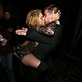 Shakira Straddles Her Boyfriend Backstage at the Billboard Awards