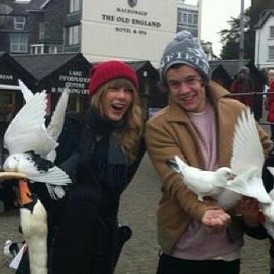 Taylor Swift and Harry Styles in London on Her Birthday