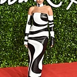 Rita Ora at the British Fashion Awards 2019