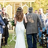 Having an Outdoor Wedding When It's Too Hot