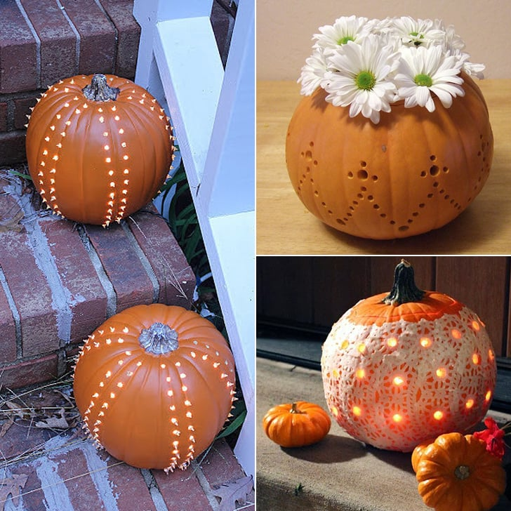 Drilled Pumpkins Inspiration