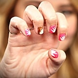 Starburst Nail Art That's Easy to Do!
