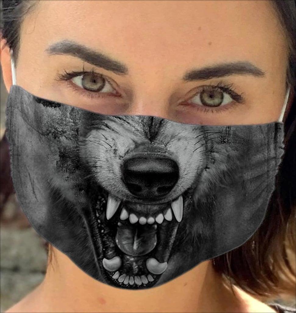 Wolf Animal Face Masks