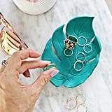 DIY Palm Leaf Ring Dish