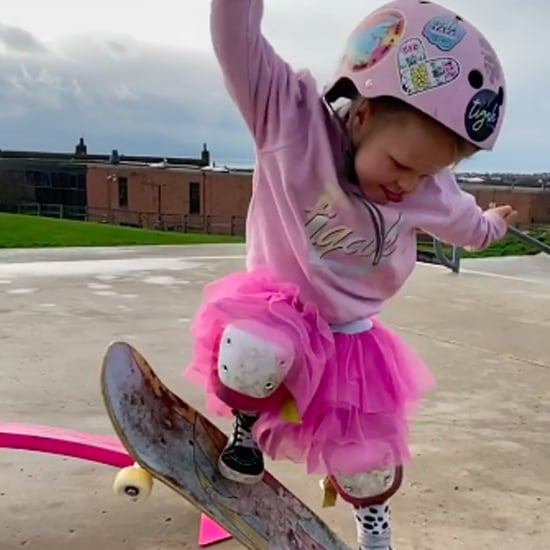 Watch 4-Year-Old Autumn Bailey's Skateboarding Videos