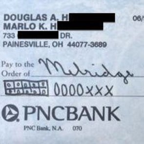 Parent Uses Common Core to Write Check