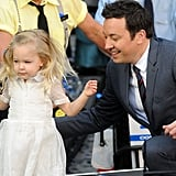 Jimmy Fallon on Daughter's First Day of Kindergarten