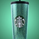 Starbucks Mercury Glitter Green Cold Cup