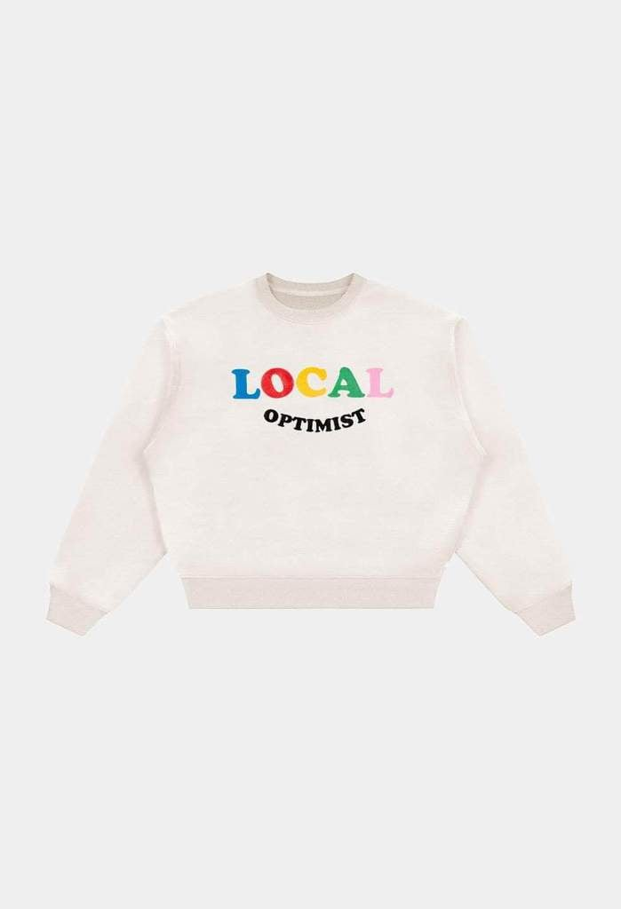 Mad Happy Local Optimist Heritage Crewneck