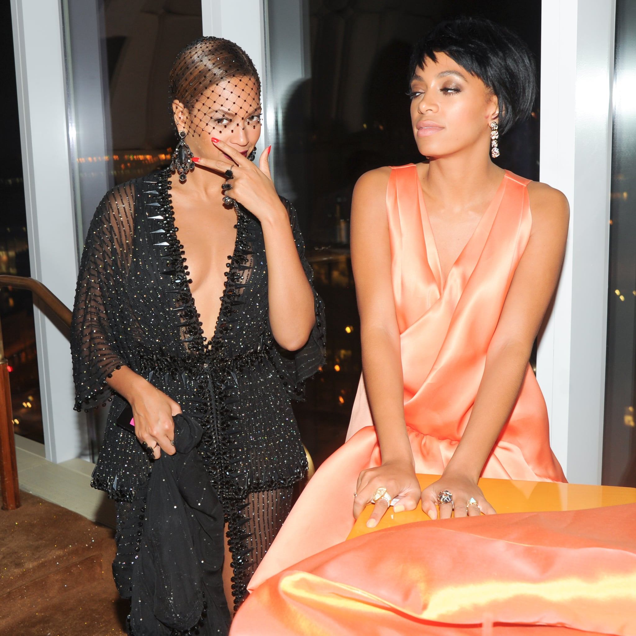why did solange knowles attack jay z?   popsugar celebrity