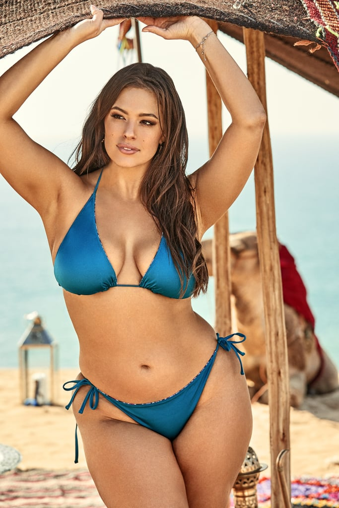 d6a32ac24fd0 Ashley Graham Mother and Daughter Swimsuits For All Campaign | POPSUGAR  Fashion