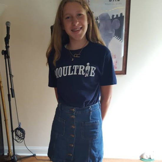 Girl Sent to Principal Over Denim Skirt