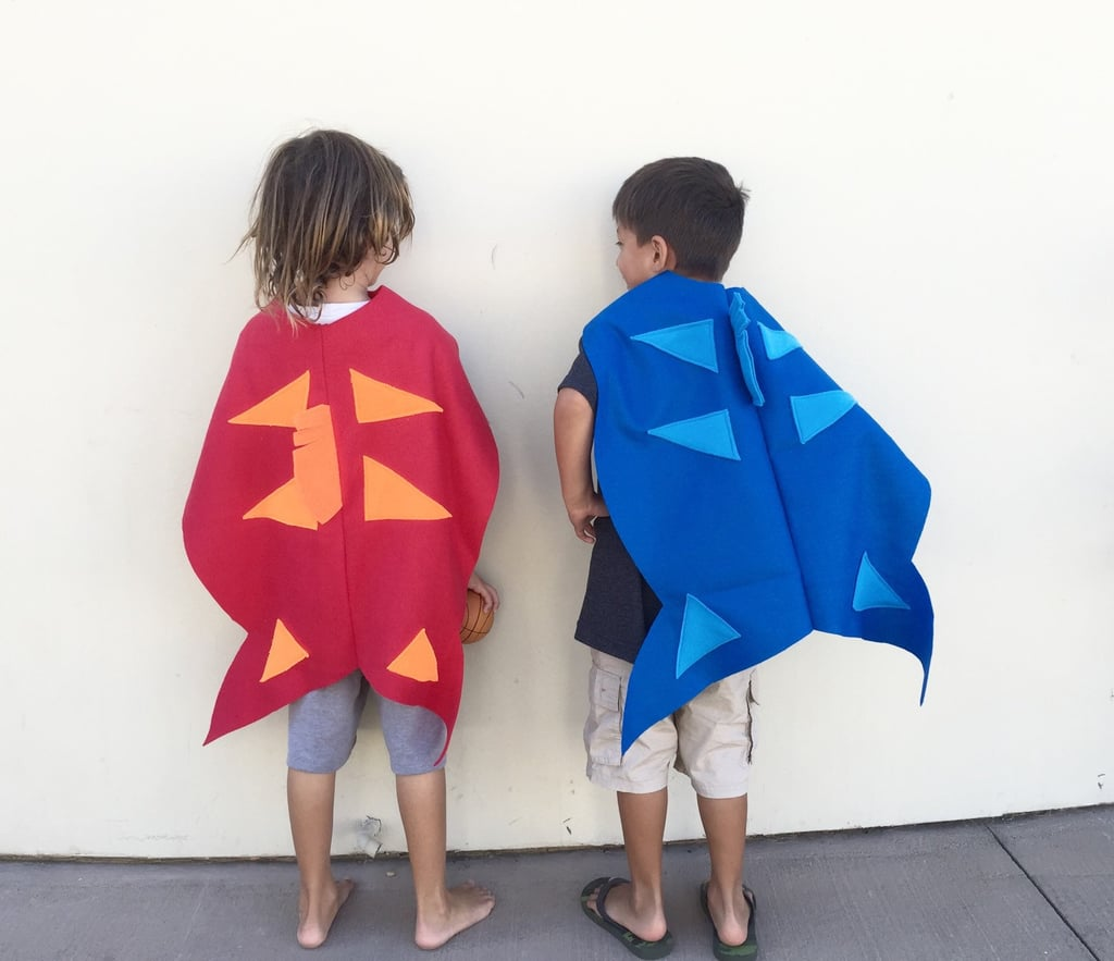 Kids 39 group halloween costume ideas popsugar moms for One fish two fish red fish blue fish costume