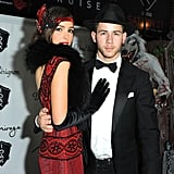 Nick Jonas and Olivia Culpo as a 1920s Couple