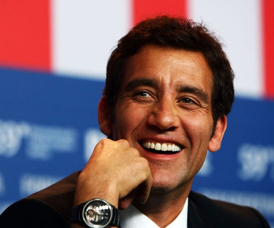Photo of Clive Owen at the Berlin Film Festival
