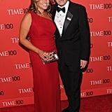 Jimmy Fallon and Nancy Juvonen in April 2013