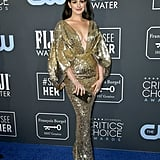 Anne Hathaway at the 2020 Critics' Choice Awards