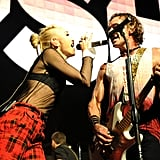 Gwen Stefani and Gavin Rossdale performed together.