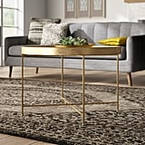 Dishman Lift Top Cross Legs Coffee Table