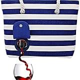 Wine Tote Beach Bag